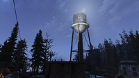 FO76 081120 Water tower Huntersville