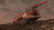 FO76 311020 Fire truck Ash Heap 1