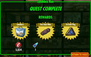 FoS Lunchbox Run rewards