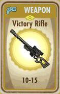 FoS Victory Rifle Card