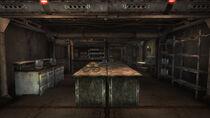 Mess hall & munitions storage room