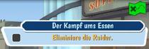 FOS Quest-Zufallsbegegnung-Der Kampf ums Essen!-Zieleinblendung
