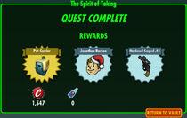 FoS The Spirit of Taking rewards