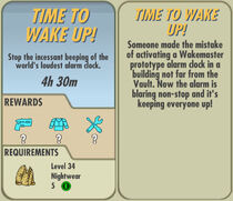 FoS Time to Wake Up! card
