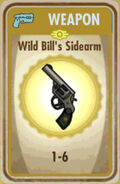 FoS Wild Bill's Sidearm Card