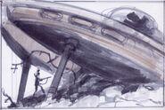 Alien crash site CA2