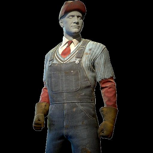 Settler laborer outfit