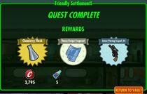 FoS Friendly Settlement! rewards A