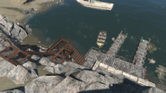 FO4 Salem coastal diner and dock view1