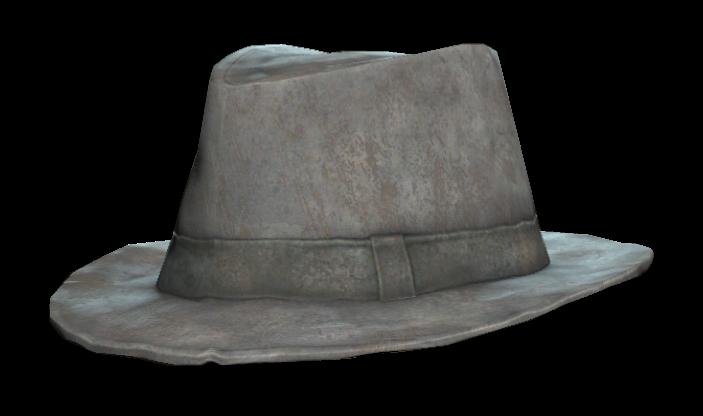 Battered fedora (Fallout 76)