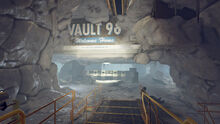 Fo76SR Vault 96 (welcome Vault)