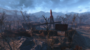 Fo4 Red Rocket Truck Stop 2