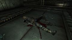 Anchorage Memorial facility bay Dead mercenary with Merc's orders.jpg