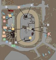 FO4 Survival Easy City Downs map