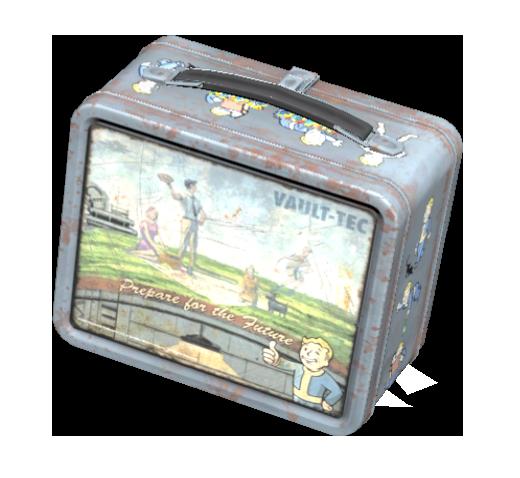 Camper's lunchbox