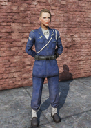 FO76 Military Officer Uniform Female