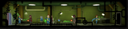 Fallout Shelter Garden three rooms level one