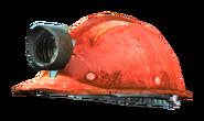 Fo4 mining helmet red grey