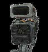 Laser rifle scope