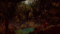 Sacred bog entrance
