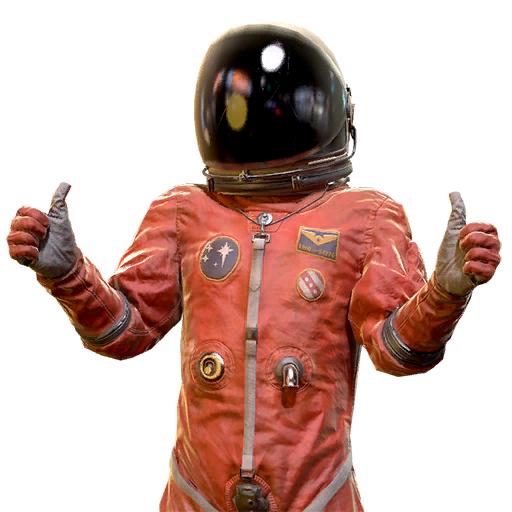 Clean spacesuit jumpsuit