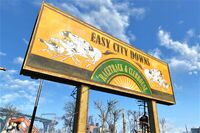 FO4 Easy City Downs sign