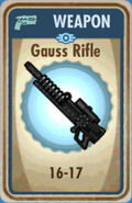 FoS Gauss Rifle Card