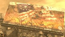 NV Lonesome Road USA Flag