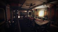 Whitespring bunker cabinet room