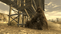 Follower outpost hollowed out rock