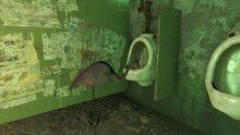 FO4 Urinal Flamingo