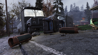 FO76 Golf cart accident Whitespring