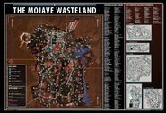FNV Game Guide New Vegas map