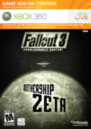 Fallout 3 - Mothership Zeta (add-on cover)