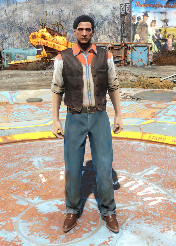 Western outfit (Nuka-World)