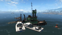 Spectacle Island police