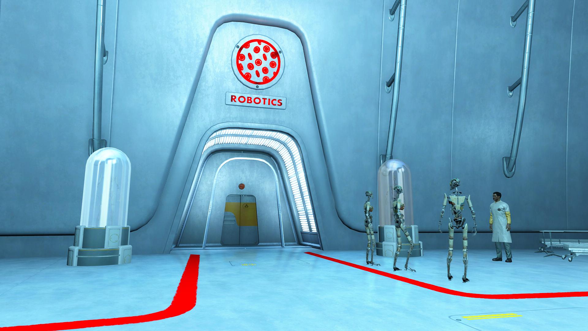 Институт — отдел роботехники