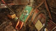FO76FS Makeshift vault (Brotherhood note)
