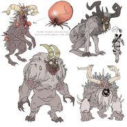 FO76 Chris Ortega concept (The SheepSquatch Monster) (4)