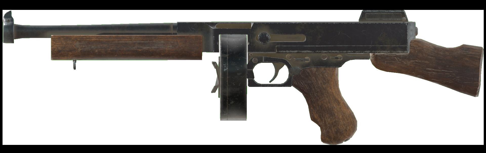 Submachine gun (Fallout 76)