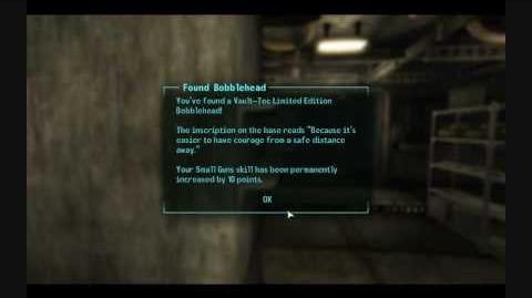 Fallout 3 Bobblehead -Small Guns-