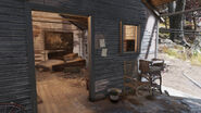 FO76WL Isolated cabin (notes)