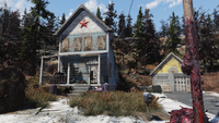 FO76 Huntersville red star house