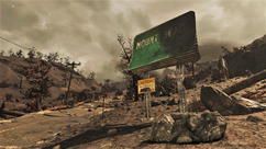FO76 Yet another Mt Blair sign.png