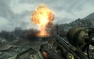 FO3 Fat Man explosion