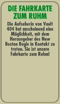 FOS Quest - Info - Die Fahrkarte zum Ruhm - Rückseite