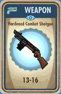 FoS Hardened Combat Shotgun Card
