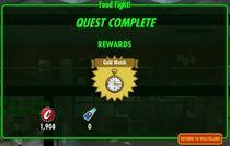 Foodfight rewards