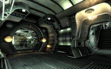 FO3MZ Death Ray control entrance
