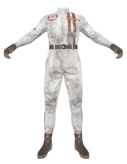 Racecar driver outfit